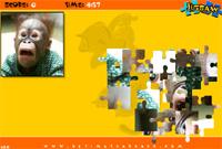Play Monkey Jigsaw Puzzle