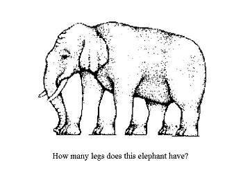 Play Elephant legs illusion